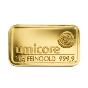 Photo de 10 grammes - Lingots d'or