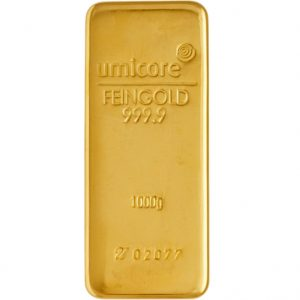 Photo de 1 kilo - Lingot d'or