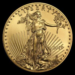 Photo de Aigle Américain - Pièce en or